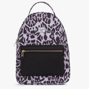 Herschel Backpack Nova Mid Animal Print NWT